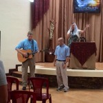 Leading Worship in San Juan